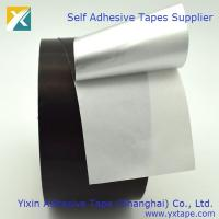 Quality Black aluminium foil tape with adhesive   duct work tape  duct foil tape black aluminum sealing tape  furnace duct tape for sale