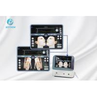 White Hifu Beauty Machine Non Surgical Face Lift Equipment Warm Feeling for sale