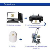 Quality Cap Multifunction Heat Press Machine , Hat Heat Press Transfer Machine For Paper Printer for sale