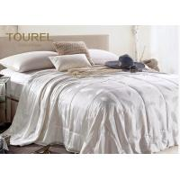 Quality Jacquard Fabric 5 Star Bed Linen Embossed Polyester Customed Size for sale