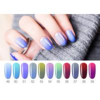 Quality Healthy Resin Materials Color Changing Gel Polish / Uv Gel Nail Paint for sale