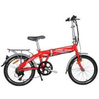 Quality Foldable E-Bike TDM1202Z New Red for sale