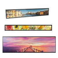Quality 700 Ntis Stretched Bar Lcd Display 1920*540 Max Resolution 50,000 Hours Panel Life for sale