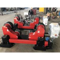 Buy Remote Hand Control 20T Self Aligning Tank Turning Rolls / Pipe Rollers For at wholesale prices