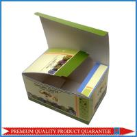 Quality custom artwork printing color paper box for medicine package shiny glossy for sale