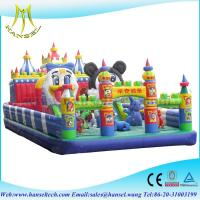 Quality Hansel children outdoor inflatable toys for sale