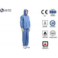 Quality Fiber Blended Ppe Protective Clothing High Voltage Conductive Suit For Substations Inspectors for sale