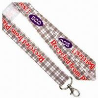 Quality ECO Felt Sublimation Lanyards, 25mm Wide for sale
