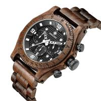 Buy cheap Wood Belt Multifunction Wrist ,wood watches for men ,3 ATM water proof . from wholesalers