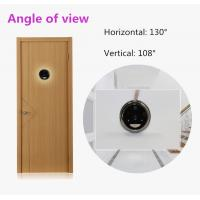 Quality PIR Motion 1.2mm Lens Wireless Door Camera With Monitor , Color CMOS sensor for sale