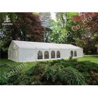 Buy cheap Exterior Decoration Luxury Wedding Reception Tents , Aluminum Outdoor Big Marquee from wholesalers