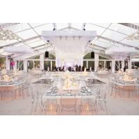 Transparent PVC Wedding Event Tents , Large Event Tents For Wedding Ceremony for sale
