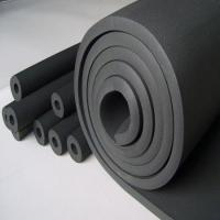 China Closed-cell flexible rubber foam insulation sheet1mX10m on sale