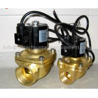 Quality Musical Fountain Electromagnetic Solenoid Valve , Brass Water Solenoid Valve for sale