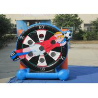 Buy cheap Attractive Children Inflatable Football Games Inflatable Soccer Arena 4 X 5m Customized from wholesalers