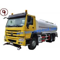 Quality China Heavy Duty Sprayer Water Truck 6x4 Drive Type with 20000 Liter Water Tank for sale