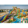Cambodia 15,000 M2 Family  Fiberglass Water Slide Water Palyground Water Park Slide for sale