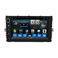 Quality OEM In Dash VolksWagen Dvd Gps Navigation System Glonass Android 9 Inch for sale