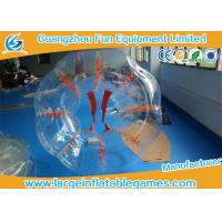 Quality 1.8m Adults Grass Field Inflatable Bubble Ball Bubble Human Ball Heat Sealed for sale