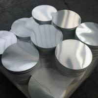 Quality Smooth Bright Surface Aluminum Disk Blanks / Round Aluminum Blanks ISO9001 for sale
