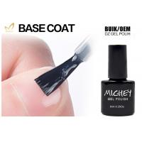 Quality Private Label Nail Polish UV Base Coat Low Smell Good Adhesive High Tenacity for sale