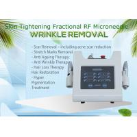 Quality Fractional rf Microneedle Machine 3.0mm Depth Portable Type For Acne Scar Removal for sale