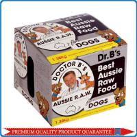 Quality Creative Dog Food Cardboard Packaging Box for sale