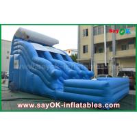 Quality Big Anti-UV 0.55 PVC Tarpaulin Inflatable Bouncer With Logo Printing for sale