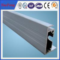 Quality china aluminium extrusion for solar, aluminium extrusion solar mounting, frame for PV for sale
