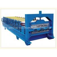 Quality 0.3mm - 0.8mm Color Steel , 12Mpa Roof Double Layer Roll Forming Machine for sale