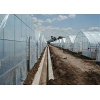 Agricultural Soft Greenhouse Plastic Film , UV Protection Clear Plastic Roll