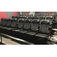 Quality Theme Park 4D Movie Cinema System Motion Film Theater Equipment With Attracting 12 Dynamic Special Effects for sale