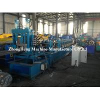 C Purlin Roll Forming Machine For 3mm Thickness Steel With Auto Punching for sale
