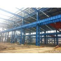 Quality Heavy Structural Steel Frame Construction For Warehouse Convenient Assembly for sale