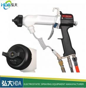 China HAD-1020 High pressure air manual electrostatic liquid paint spray gun manufacturer on sale