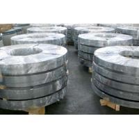 Buy Custom 610mm CR3 Treated SGCE Hot Dip Galvanized Steel Strip For Constructual Profiles at wholesale prices