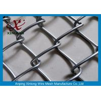 Quality Wire Iron Dark Green Chain Link Fence PVC Coated for Football Playground for sale