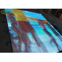 Quality High Weight Load 3 In 1 SMD LED Dance Floor Outdoor P6.25 For Concert , Full Color portable led dance floor for sale