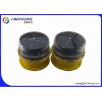 Quality Solar Powered Aircraft Warning Light On Towers Vibrations And UV Protection for sale