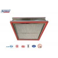 China High Temperature Resistance Thermostability High Temp Hepa Filter for Pharmaceutical on sale