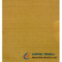 Quality Twill Dutch Weave Brass Wire Cloth, 10-119um Aperture, 0.1-1.2mm Thickness for sale