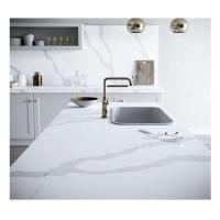 Buy cheap Hot Sale White Calacatta Glass Big Slabs from wholesalers