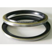 Quality Excavator Hydraulic Cylinder Wiper Seal , HS90 - HS95 Rubber Dust Seals for sale