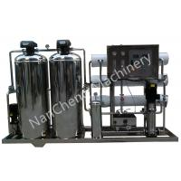 Quality Automatic / Manual Pure Water Purification Systems Stainless Steel Machine Frame for sale