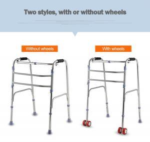 Quality Medical Disabled Walking Frames , Mobility Walking Sticks Foldable for sale