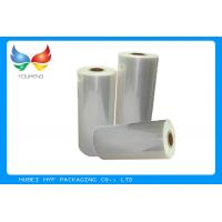 Quality Plastic Heat Shrink Film , OPS Shrink Sleeve For Bottle Automatic Packing for sale