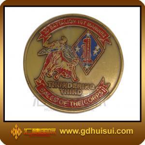 Quality zinc alloy souvenir coin for sale