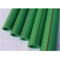 Green Color Plastic PPR Pipe 6M Length PN20 Thickness Heat - Enduring