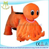 Quality Hansel coin operated animal ride plush toys play by play animal riding for sale