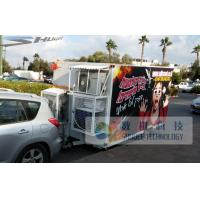 Quality Mini Mobile 5D Cinema With Air Condition For Outdoor for sale